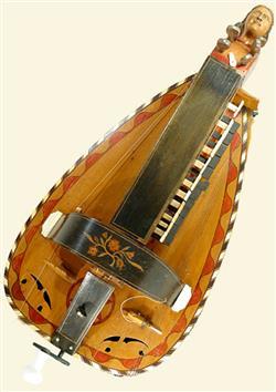 Vielle à roue forme luth | Pimpard